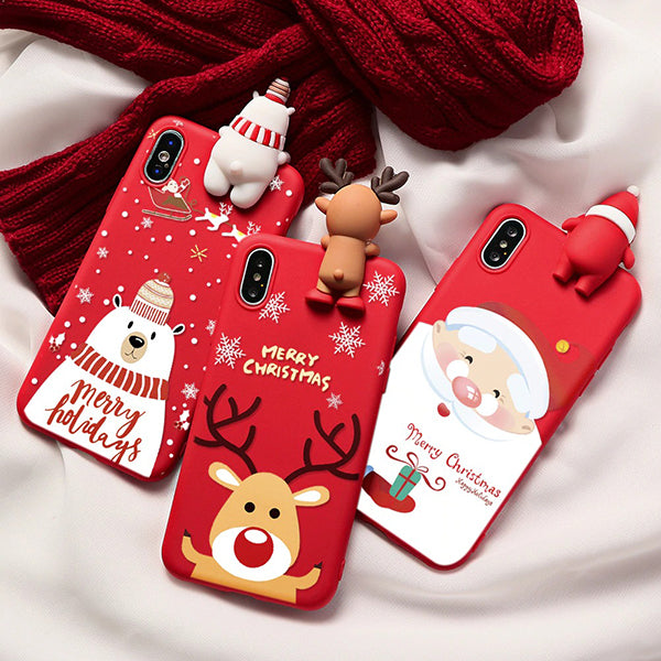 CHRISTMAS OFFER 50% OFF - Christmas Theme Soft TPU Phone