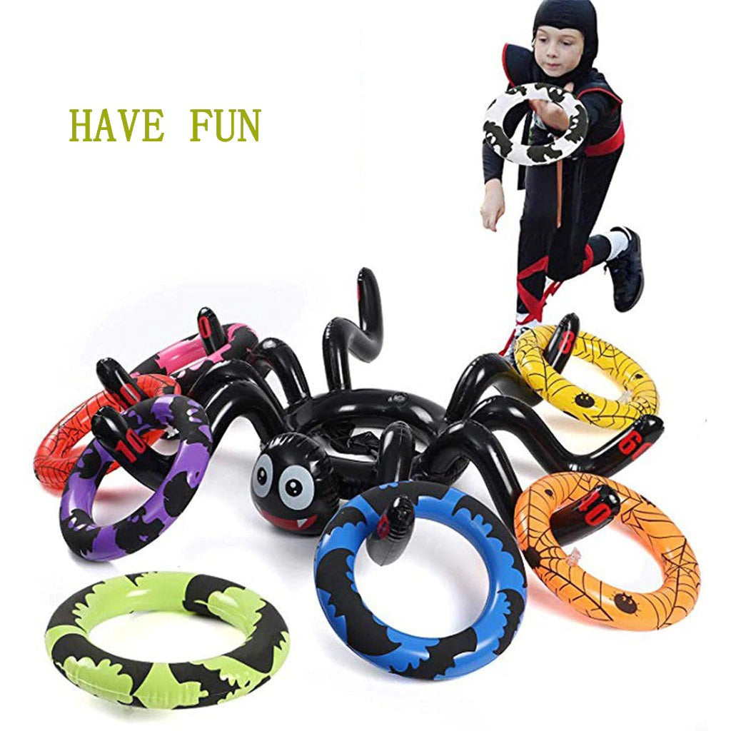 Inflatable Spider Ring Bounce
