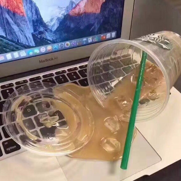 Funny Overturned Cup