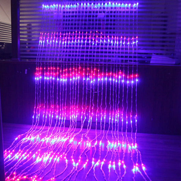 Waterfall Waterproof Meteor Shower Rain String Light