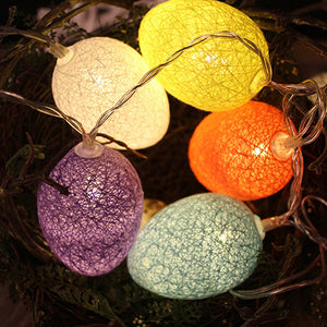 Eggs String Fair Lights