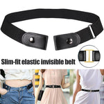 Buckle Free Stretchable Elastic Belt