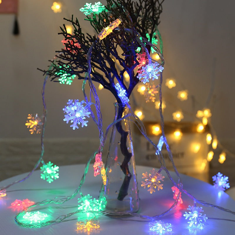 Snow Flower Christmas LED String