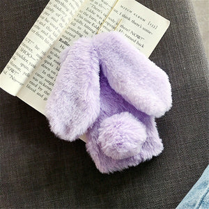 Bunny Fur Plush Phone Case