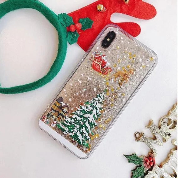 CHRISTMAS SALE - 50% OFF - Flash Powder Mobile Phone Case