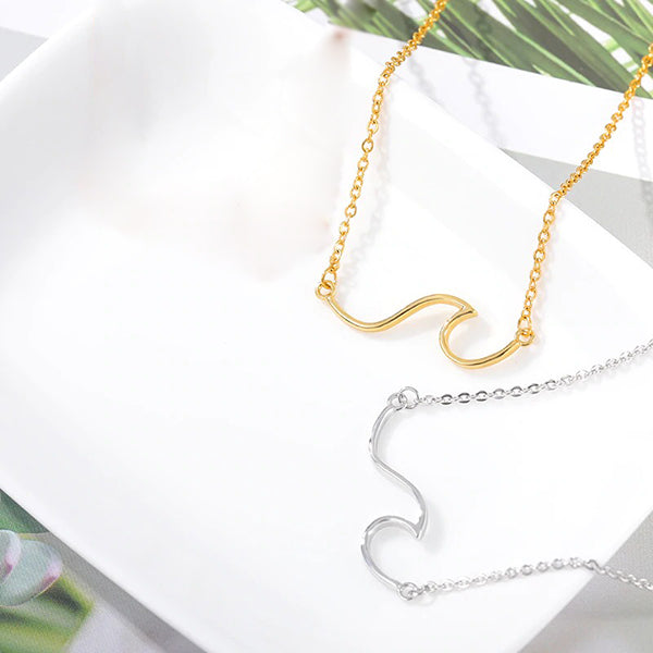 Delicated Wave Necklace