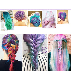 Rainbow Hair Chalk