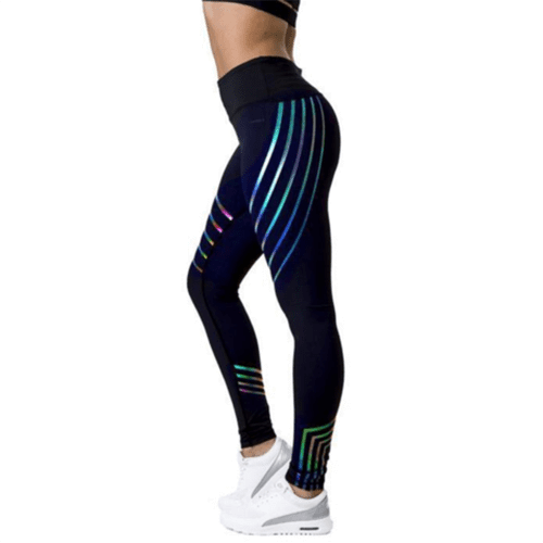 GlowUp 2.0 Rainbow Reflective Leggings