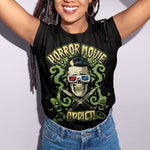 Horror Movies Addict T-Shirt