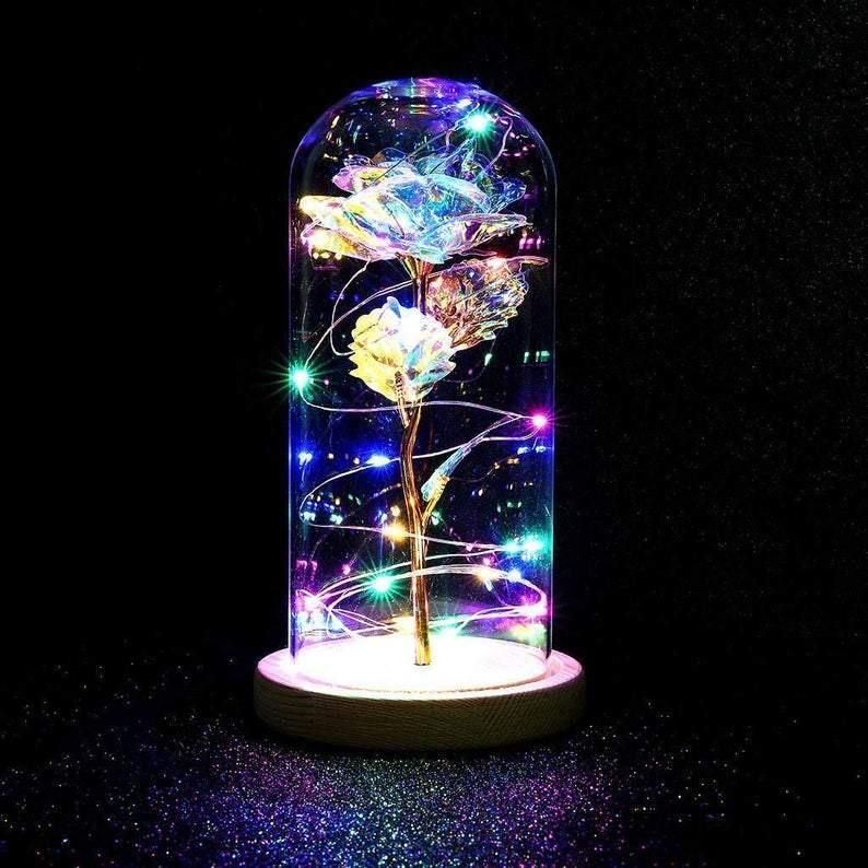 Galaxy Enchanted Rose Multi-Color