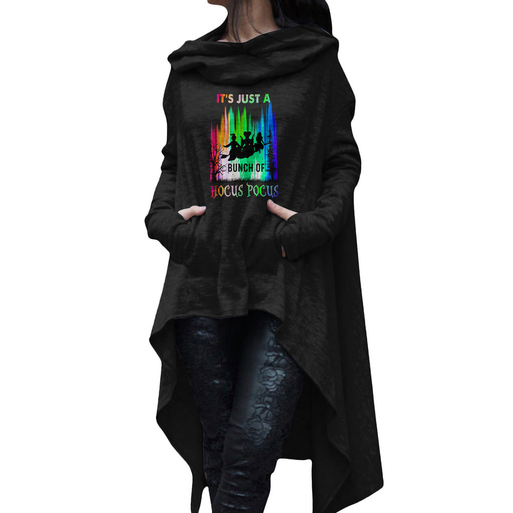Bunch Of Hocus Pocus Rainbow Long Hoodies