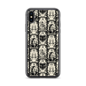 Witchy Death Tarots Goth Iphone Case