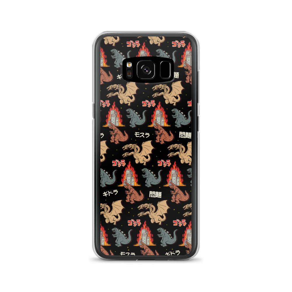 Godzilla And Friends Samsung Case