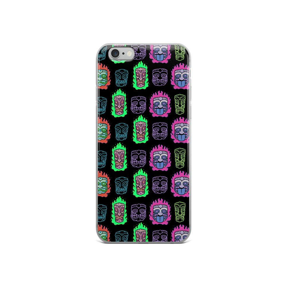 Rainbow Tikis Iphone Case
