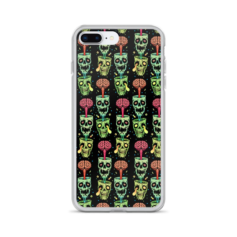 Psychedelic Brain On Drugs Raver Iphone Case