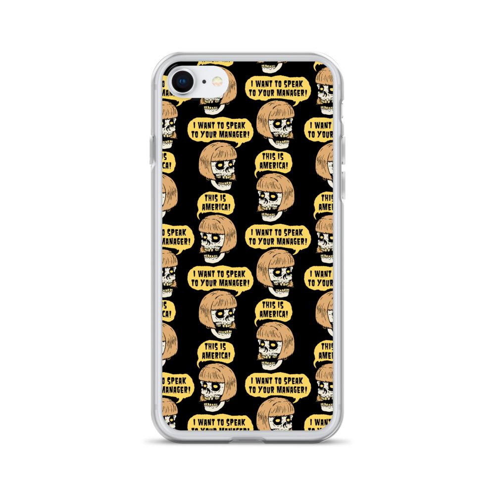Karen Skull Iphone Case