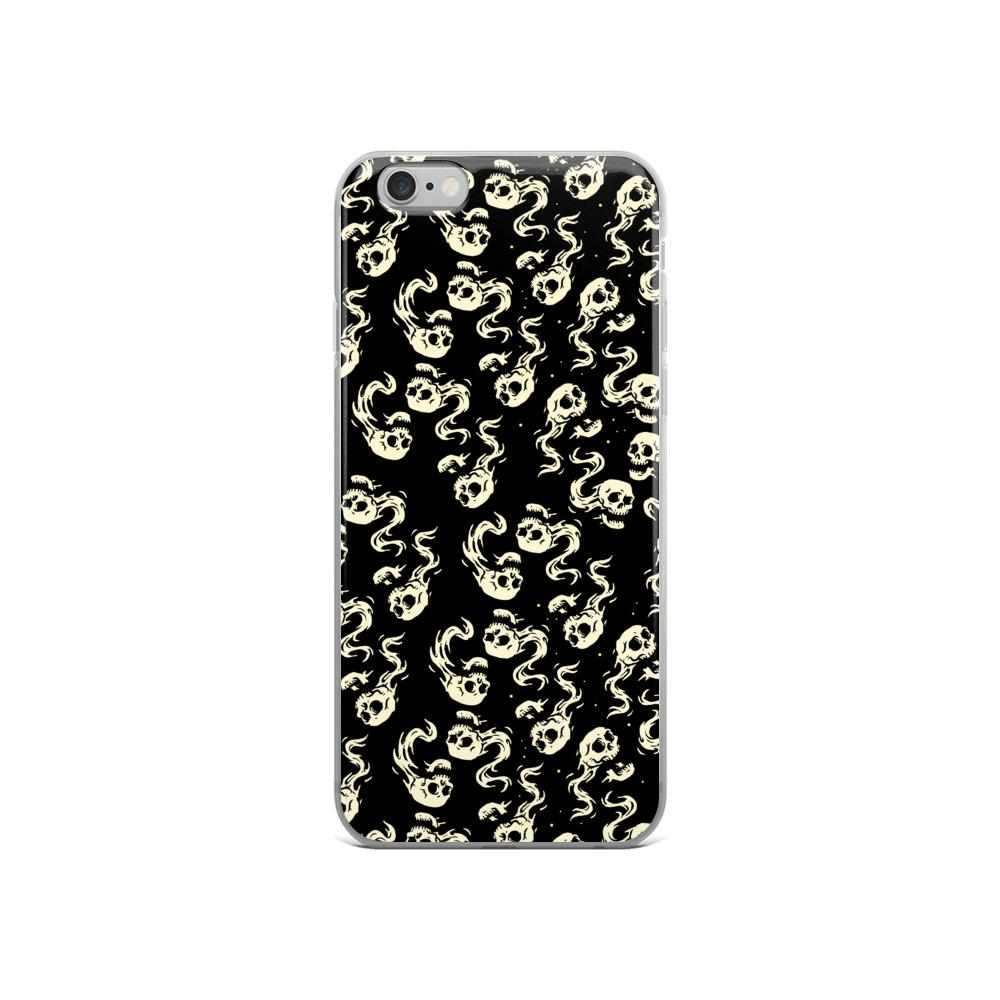 Flying Skulls Iphone Case