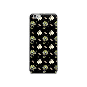 Zombie Toilet Paper Iphone Case
