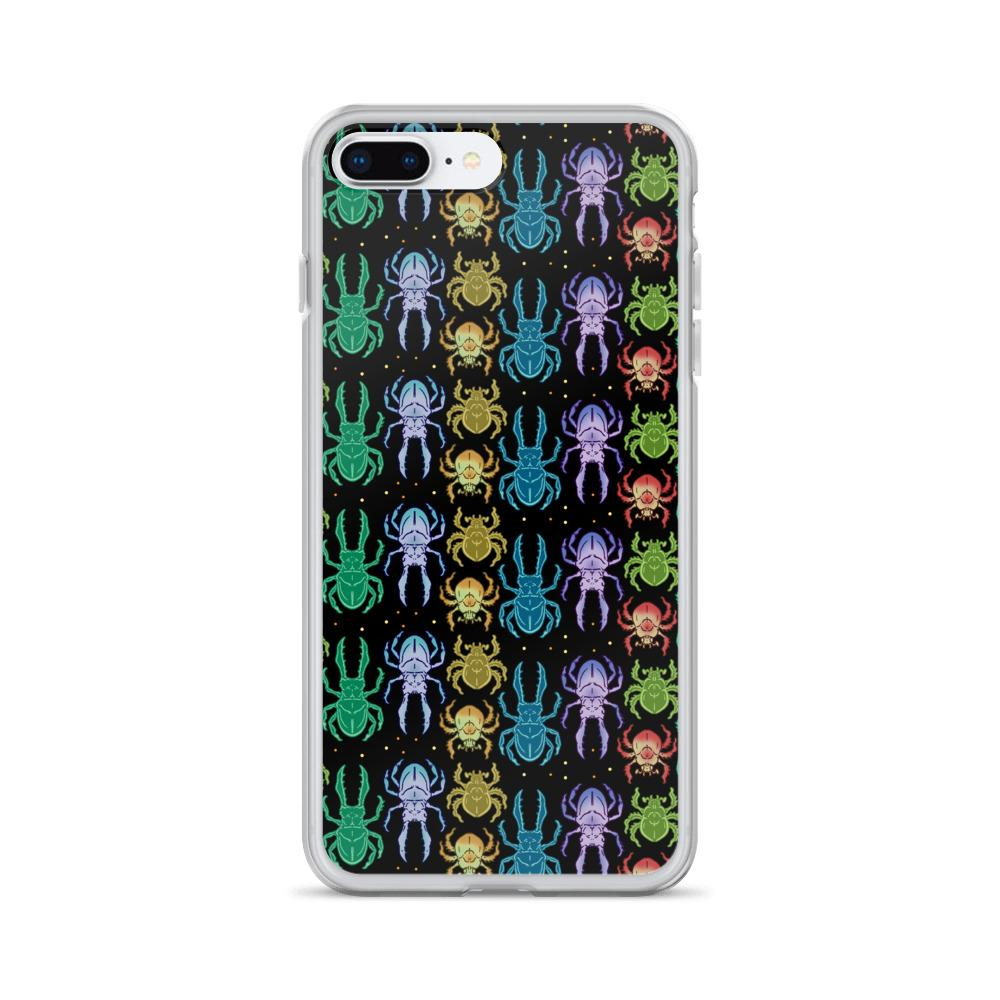 Beetles Rainbow Insects Iphone Case
