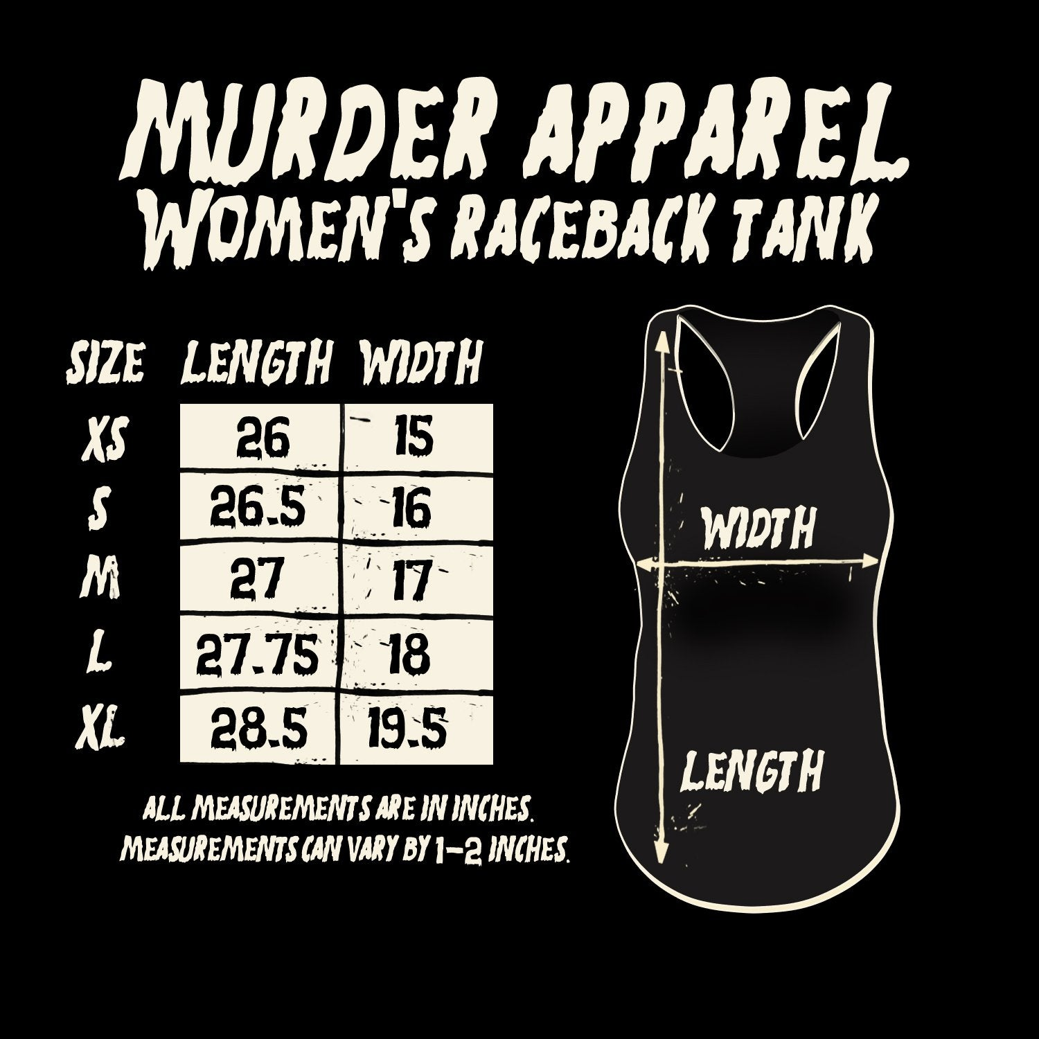 Horror Movie Addict Racerback Tank