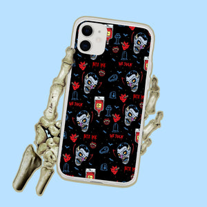 Vampire Dracula Bloodsuckers Iphone Case