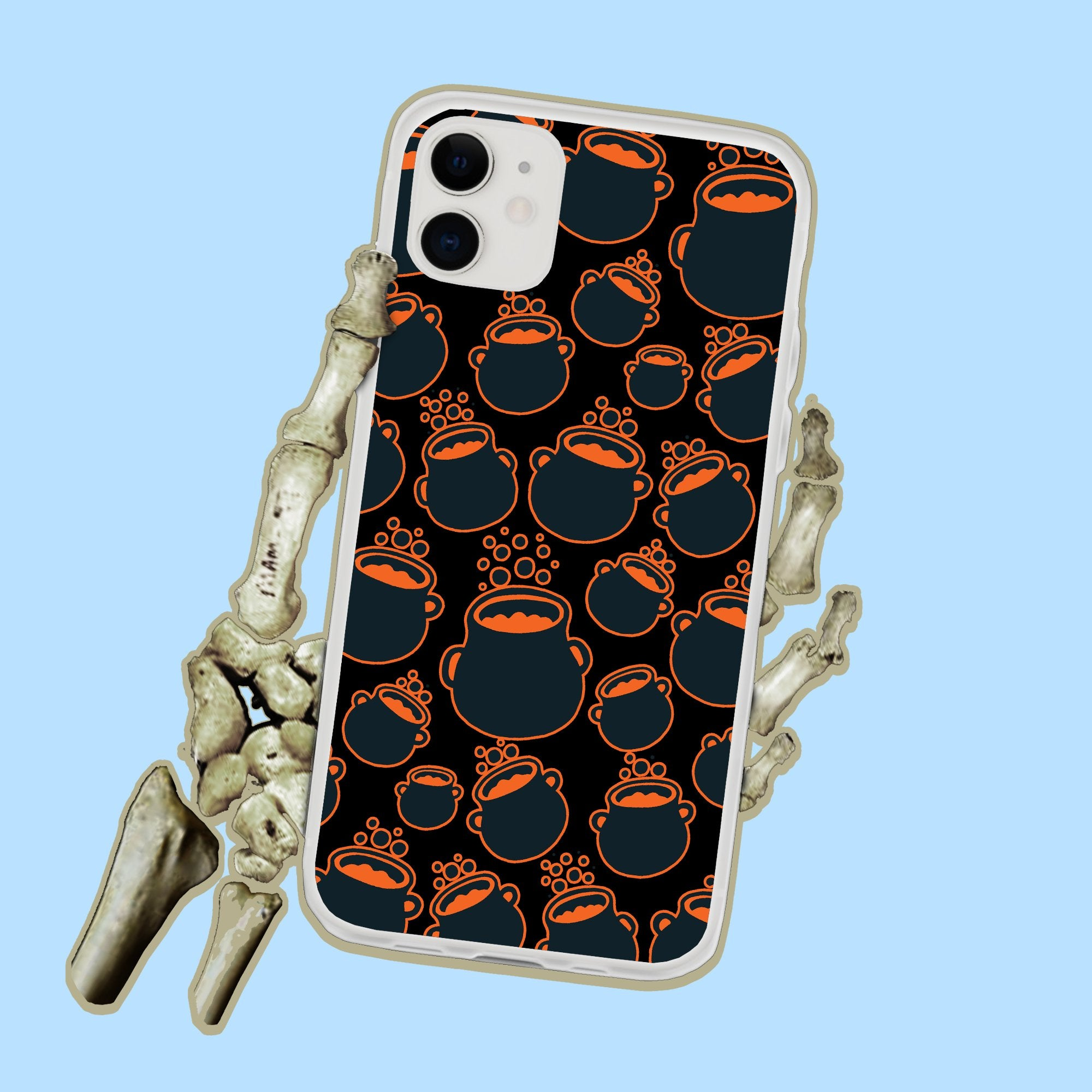 Witchy Cauldrons Halloween Iphone Case