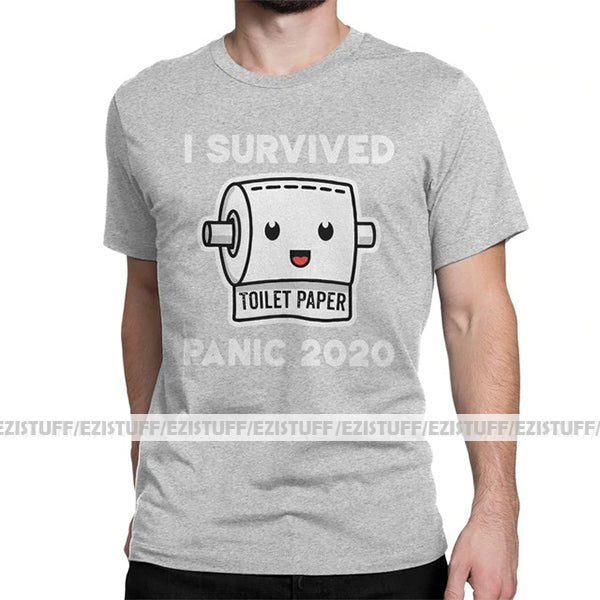 """I Survived TP Panic 2020"" Tee"