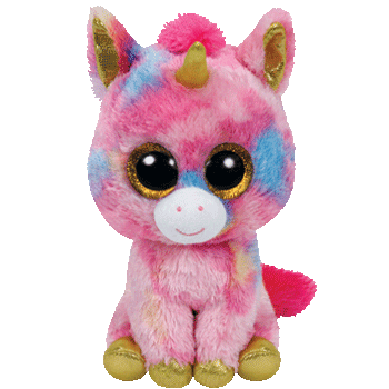 Fantasia the Unicorn Beanie Boo medium
