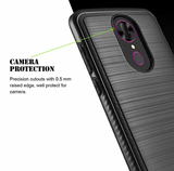 REVVL Plus Case (T-Mobile) Premium Heavy Duty Dual Layer Hybrid Case