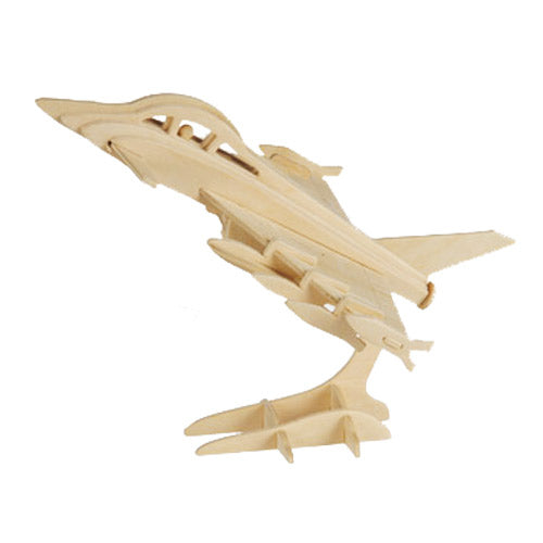 Wooden Aircraft Puzzle