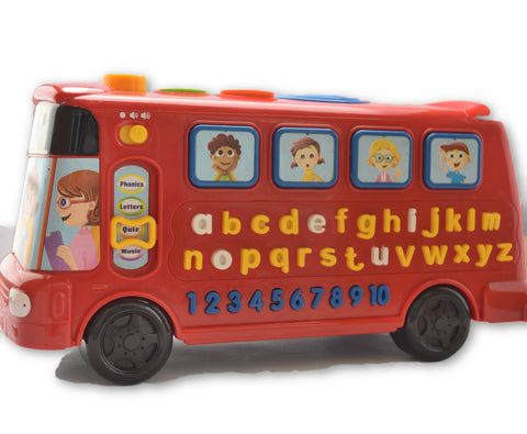 Alphabet bus by vtech - Learning steps