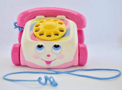Chatter telephone by fisher price.
