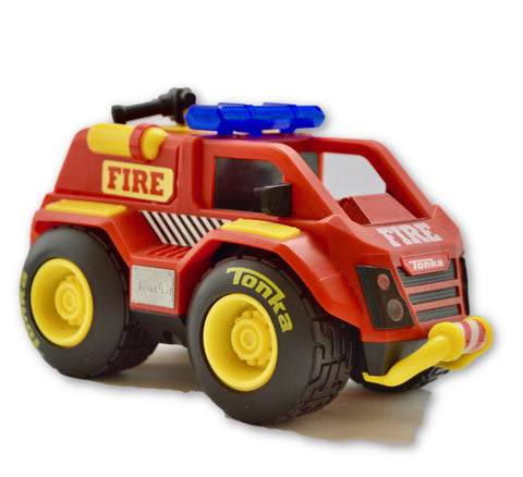 Fire truck by Tonks - Learning steps