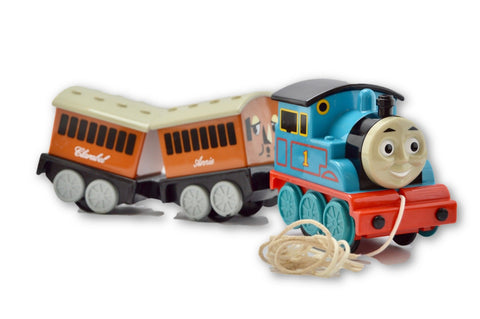 Pull along Thomas the tank - Learning steps