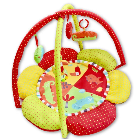 Safari Petal play gym (Red kite) - Learning steps