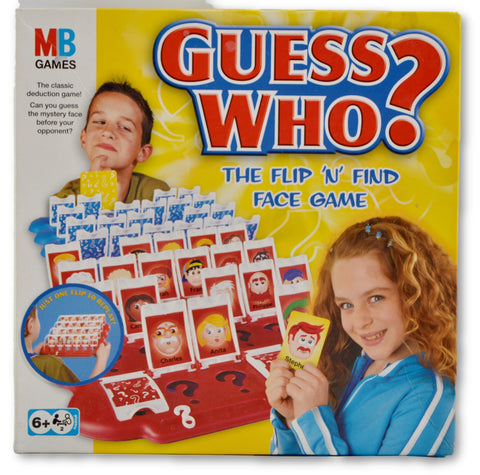 Guess who by MB - Learning steps