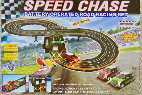 Speed chase racing track - Learning steps
