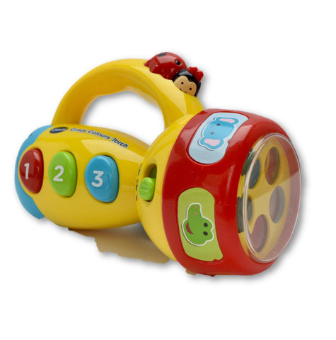 Crazy colour torch by Vtech - Learning steps