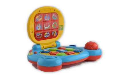 Baby laptop by vtech - Learning steps
