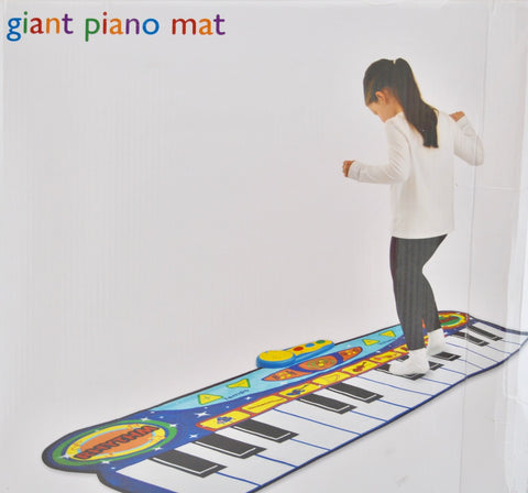 Giant piano mat - Learning steps