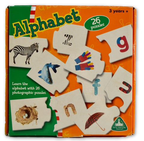 Alphabet puzzle - Learning steps
