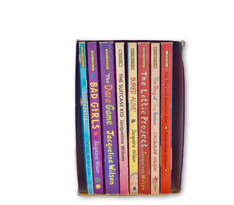 Jaqueline Wilson boxset 8 books - Learning steps