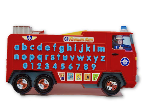 Alphabet Bus Fireman Sam - Learning steps