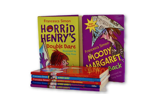 Horrid Henry booklet of 7 books - Learning steps