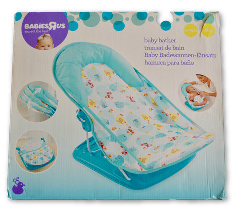 Baby bath seat - Learning steps