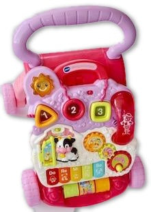 Vtech first walker(pink) - Learning steps