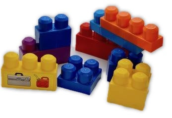 Large Building blocks 48pcs - Learning steps