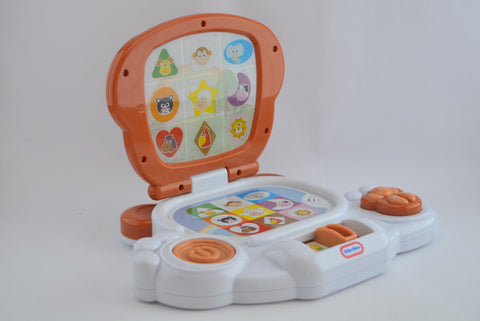 Baby laptop by little tikes. - Learning steps