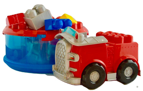 Mega Blocks car - Learning steps
