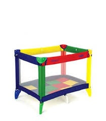 Cot/playpen by Graco - Learning steps